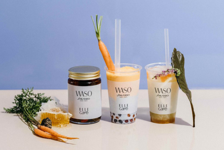 "ELLE café NEWS SHISEIDO new skincare line collaborated with ""WASO""_EN"